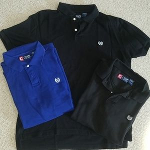 Lot of three Chaps polo shirts